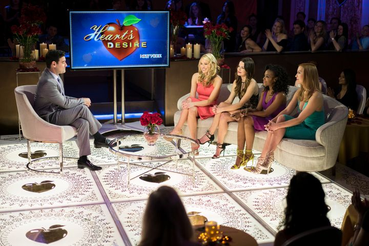 """The setlooks and feels so much like """"The Bachelor."""""""