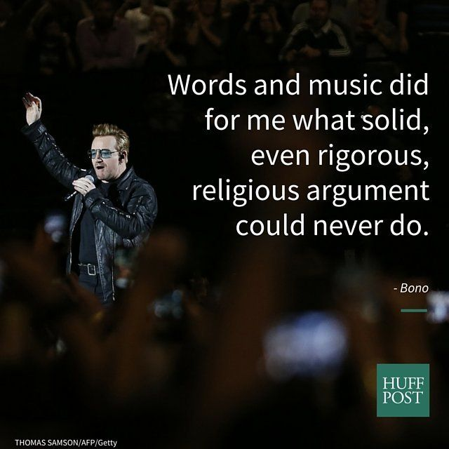 """Words and music did for me what solid, even rigorous, religious argument could never do -- they introduced me to God, not be"