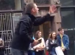 Cyclist Owns Homophobic Hate Preacher With One-Liner