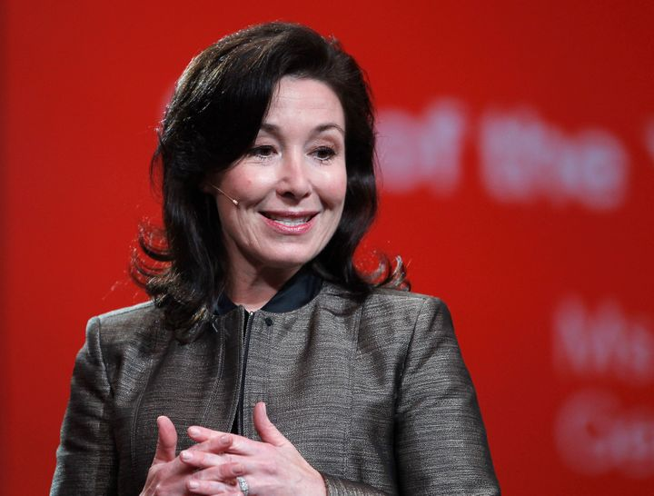 Safra Catz of Oracle tied for the best-paid CEO among America's largest companies.