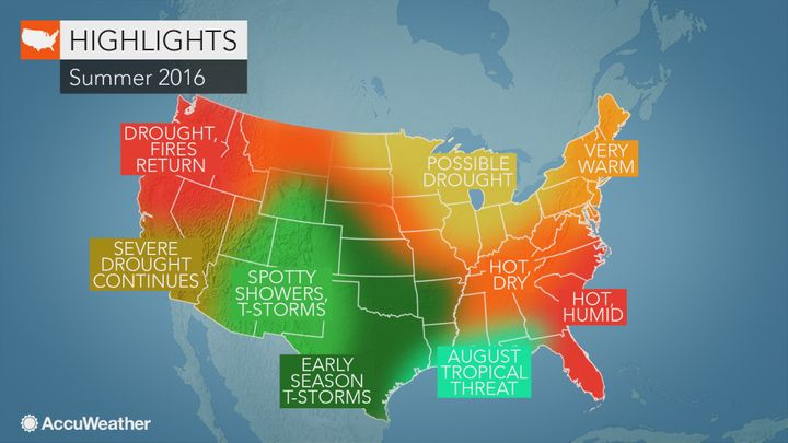 The forecast calls for regions of hell, hell, hot hell and more hell this summer.