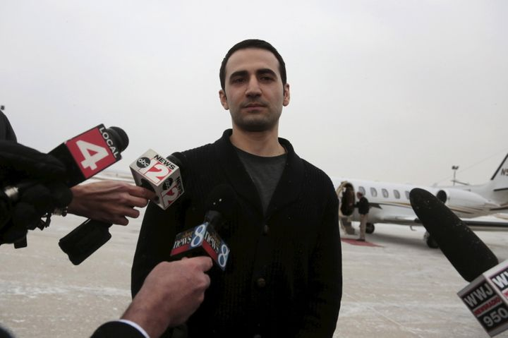 Amir Hekmati is seeking damages from the government of Iran for false imprisonment and torture during his time in custody.
