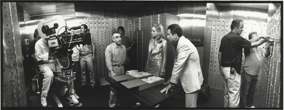 "Martin Scorsese on the set of ""<strong>Casino</strong>"" in 1995."