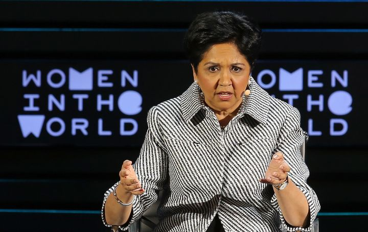 Indra Nooyi of Pepsico made more than $22 million last year.