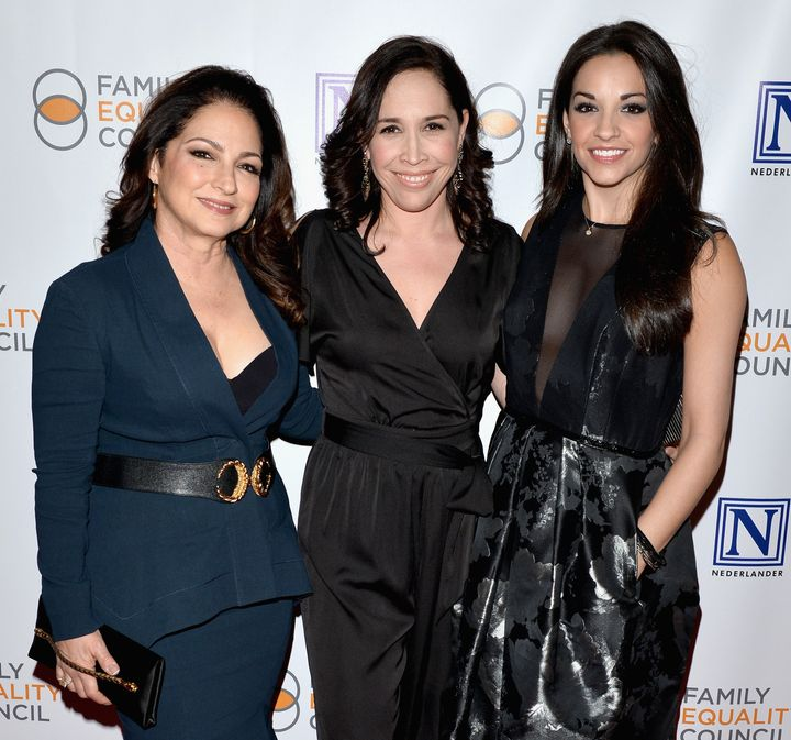 Gloria Estefan, Andrea Burns and Ana Villafane attended Family Equality Council's 11th Annual Night at the Pier on May 9.&nbs