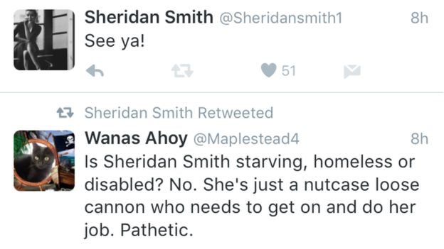 Sheridan Smith Goes On Late-Night Sweary Twitter Rant After Pulling Out Of Second 'Funny Girl' Performance...