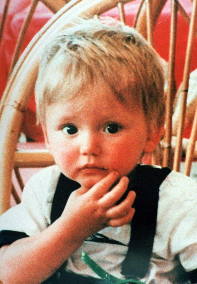 Ben Needham was 21 months old when he