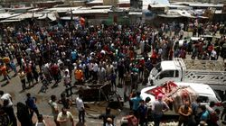 Car Bomb Explodes In Baghdad Market, Killing At Least 50