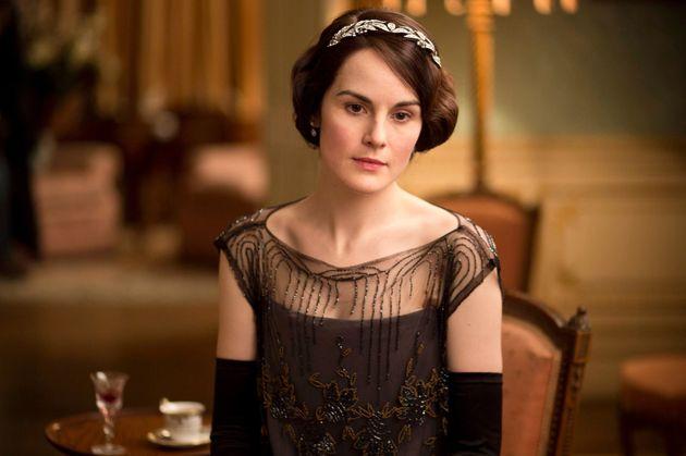Michelle asLady Mary Crawley in 'Downton
