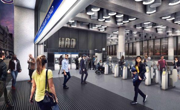 Futuristic Designs Of The Crossrail Elizabeth Line Have Been