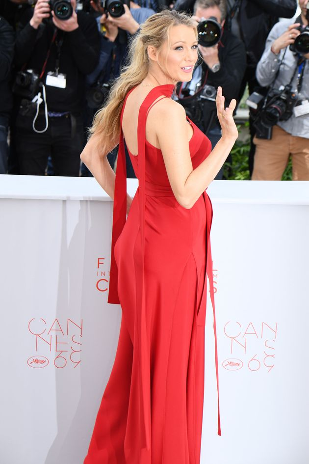 Pregnant Blake Lively Looks Stunning At Cannes