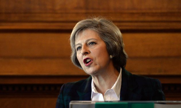 Theresa May said a terrorist attack on Great Britain from Northern Ireland terrorists was seen as a 'strong