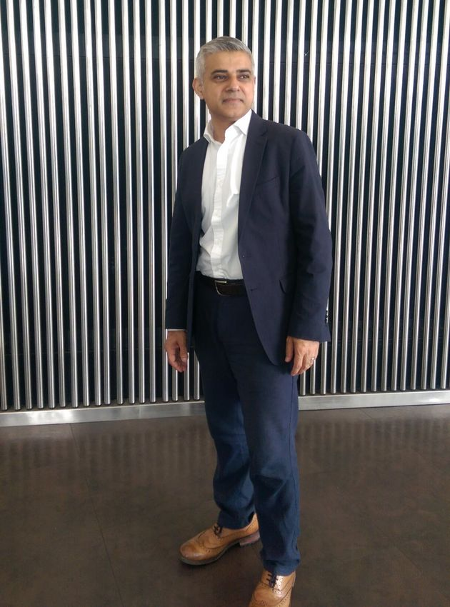 Sadiq Khan at City