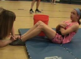 10-Year-Old Kyleigh Bass Does Record 2,110 Sit-Ups