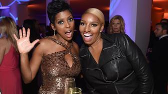 MSNBC EVENTS -- White House Correspondents' Dinner MSNBC After-Party -- Pictured: (l-r) NBC News' & MSNBC's Tamron Hall; TV Personality, actress NeNe Leakes -- (Photo by: Jamie McCarthy/MSNBC/NBCU Photo Bank via Getty Images)