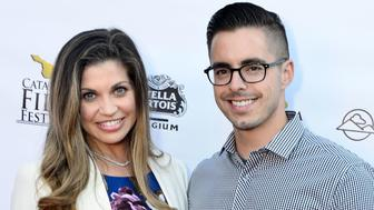 CATALINA ISLAND, CA - SEPTEMBER 27:  Danielle Fishel and Tim Belusko arrives at the 2014 Catalina Film Festival Premiere of 'Rudderless' on September 27, 2014 in Catalina Island, California.  (Photo by Jerod Harris/Getty Images)