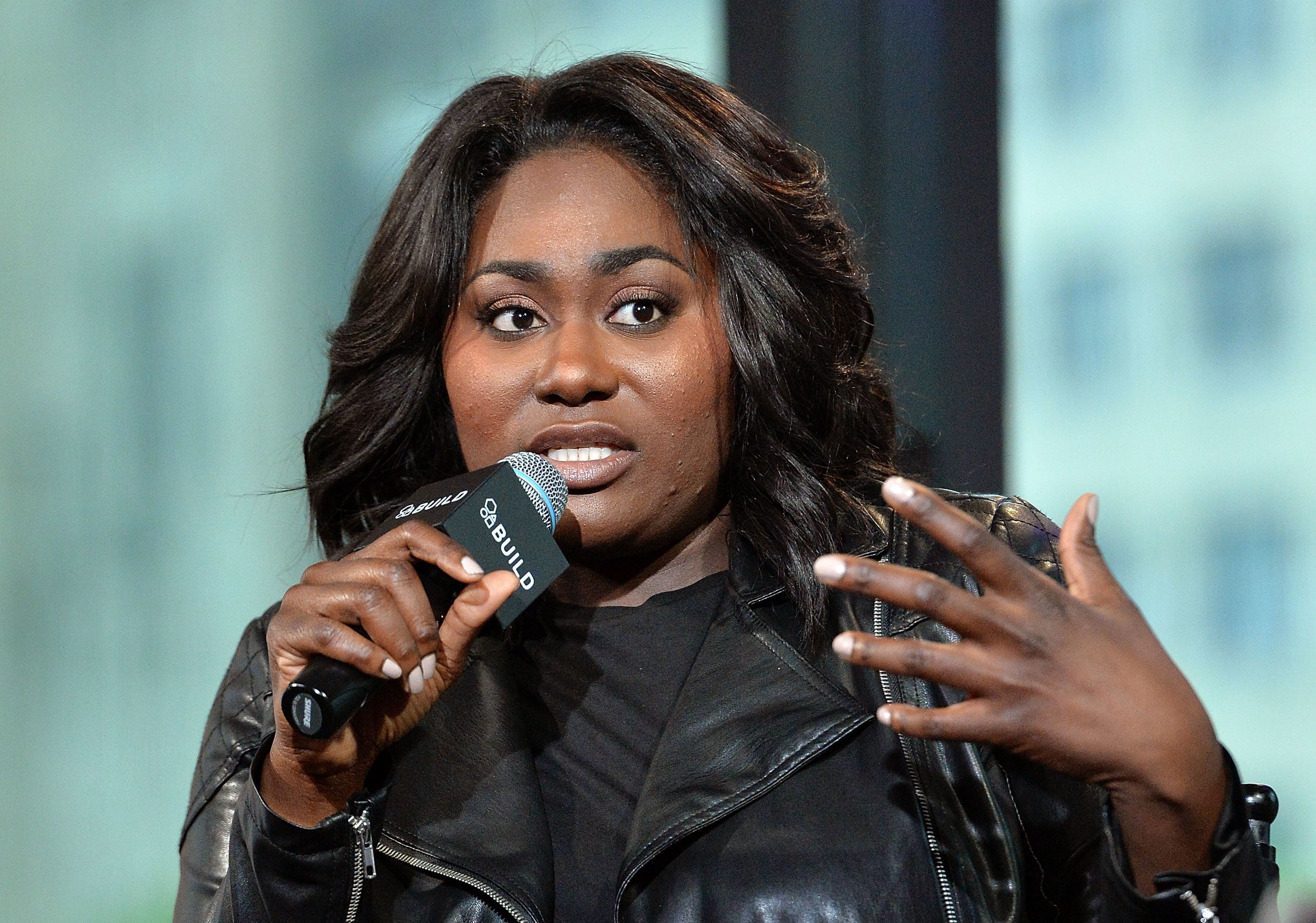 NEW YORK, NY - MAY 10:  Actress Danielle Brooks discusses her role in Broadway's 'The Color Purple' at AOL Build at AOL on May 10, 2016 in New York, New York.  (Photo by Slaven Vlasic/Getty Images)