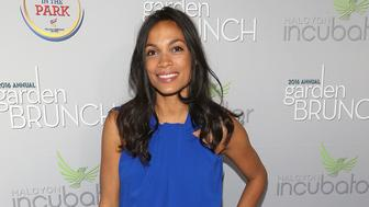 WASHINGTON, DC - APRIL 30:  Actress Rosario Dawson attends the Garden Brunch prior to the 102nd White House Correspondents' Association Dinner at the Beall-Washington House on April 30, 2016 in Washington, DC.  (Photo by Paul Morigi/WireImage)