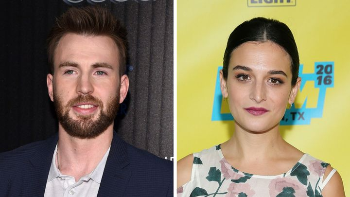 Chris Evans and actress/comedian Jenny Slate are reportedly dating.