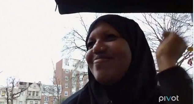 Elhan wears her hijab and garments out to coffee with a friend, where she learns that she's been set up on a date.