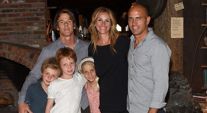 Julia Roberts' daughter is named Hazel.