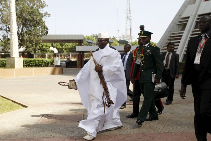 Gambia's authoritarian President Yahya Jammeh has ruled the country for over 20 years.