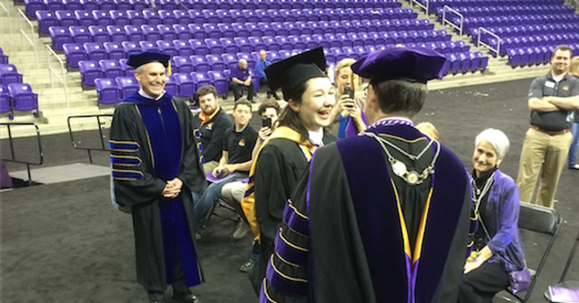 Student Missed College Graduation, So School Held One Just For Her ...