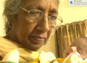 Oldest Mom Daljinder Kaur