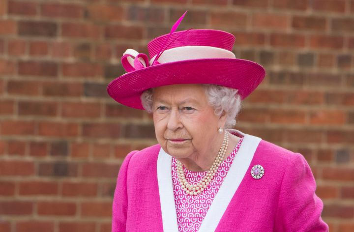 Britain's Queen Elizabeth and Prime Minister David Cameron were caught on camera in separate incidents this week making