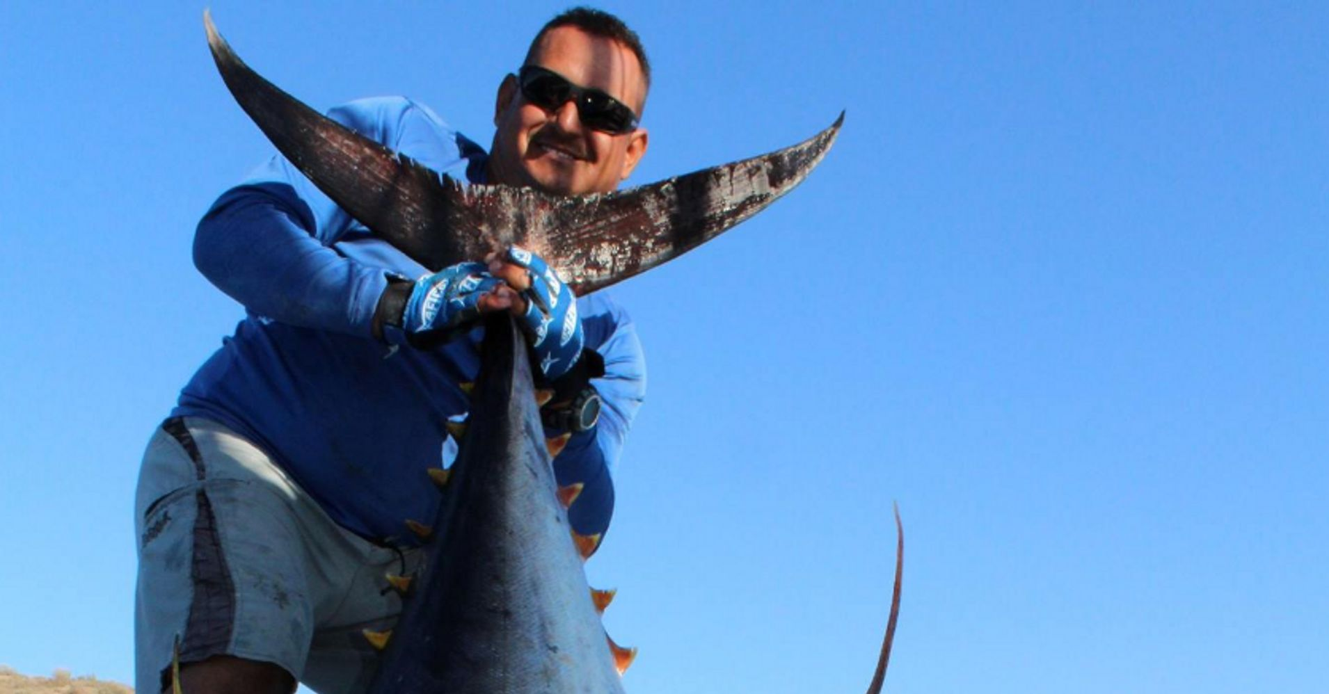 This fisherman s huge mistake cost him a world record for Plenty of fish cost