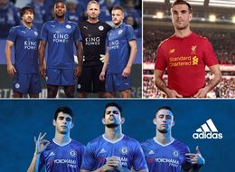 Official Premier League 2016/17 Football Kits: Chelsea, Manchester United And Liverpool Release New Strips