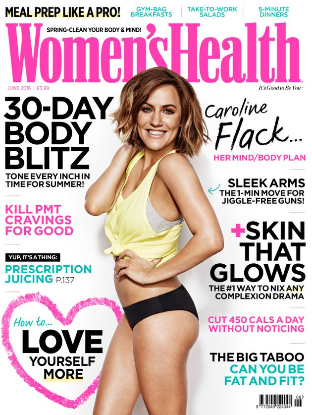 Caroline Flack Opens Up About The Effect Of Body Shaming