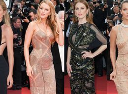 Nearly-Naked Dresses Are Back Again At Cannes