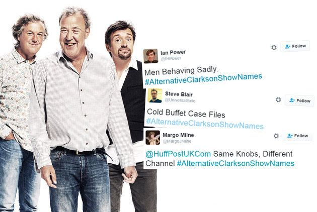 People On Twitter Are Suggesting Better Names For Jeremy Clarkson's New