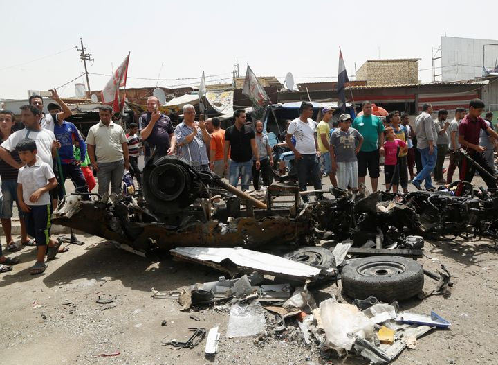 Thursday's attacks came one day after ISIS bombs killed at least 80 people in Baghdad.