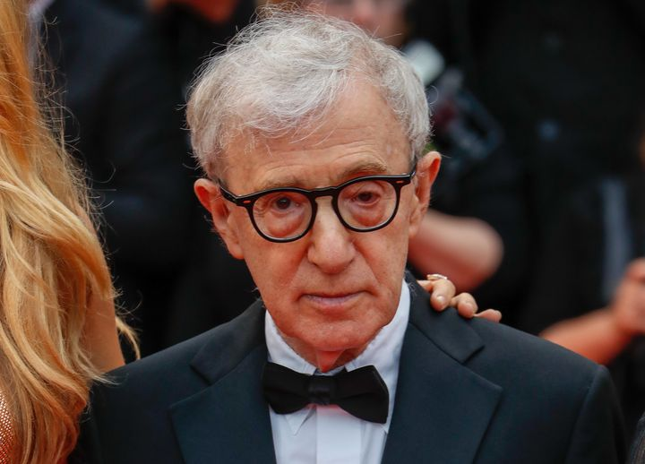 Woody Allen attends the screening of 'Cafe Society' at the opening gala of the annual 69th Cannes Film Festival at Palais des