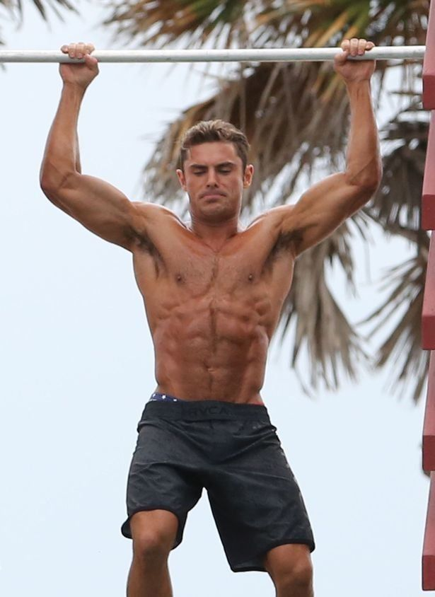 Zac Efron Workout: How To Get A Body Like The 'Baywatch ...