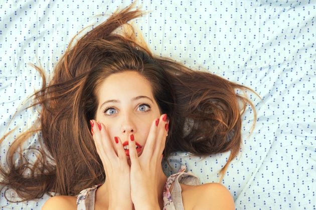 What Sleeping in Makeup Really Does To Your