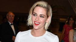 Kristen Stewart Rocks Up To Cannes Red Carpet In T-Shirt And