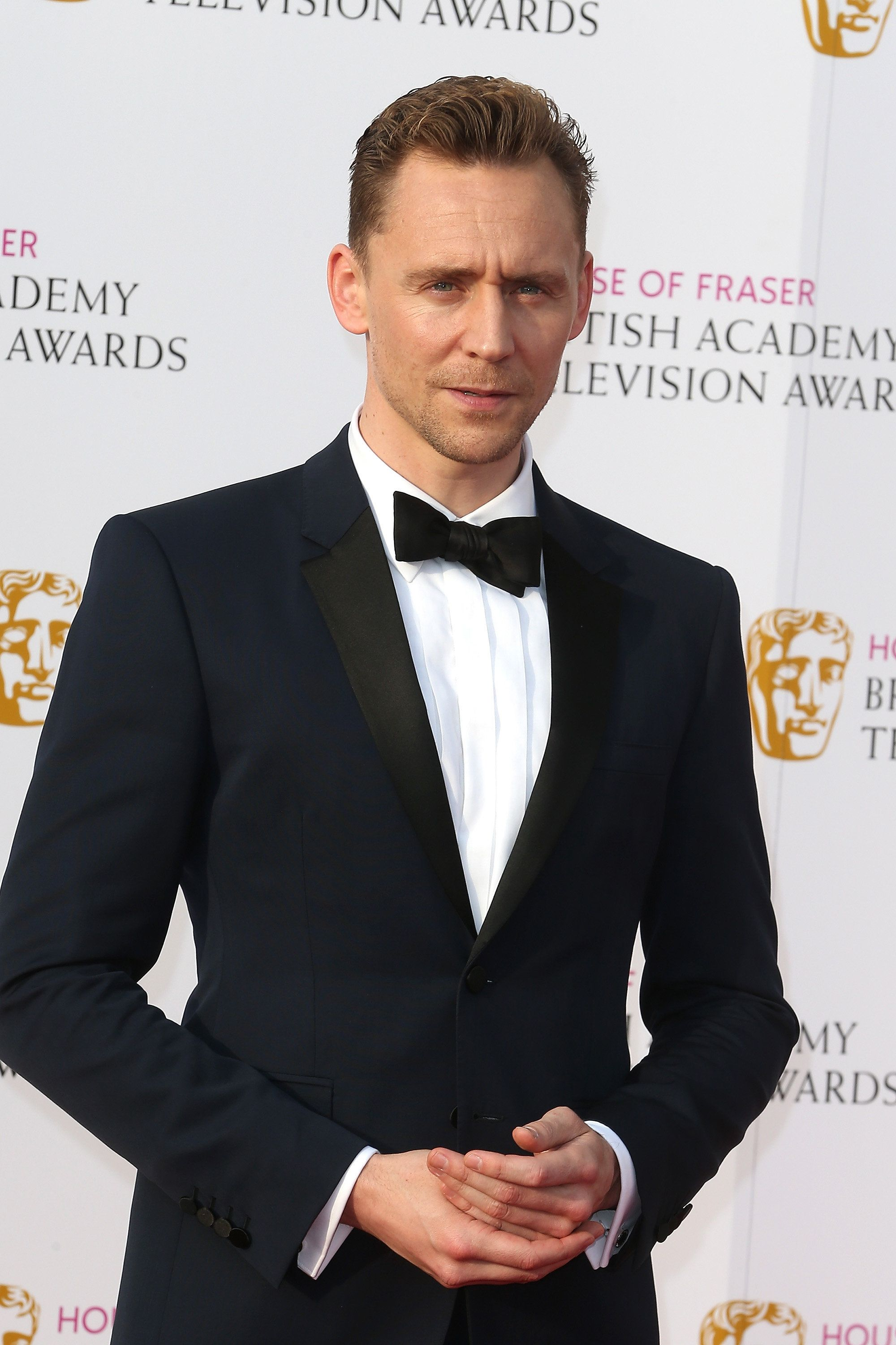 The name's Hiddleston... for