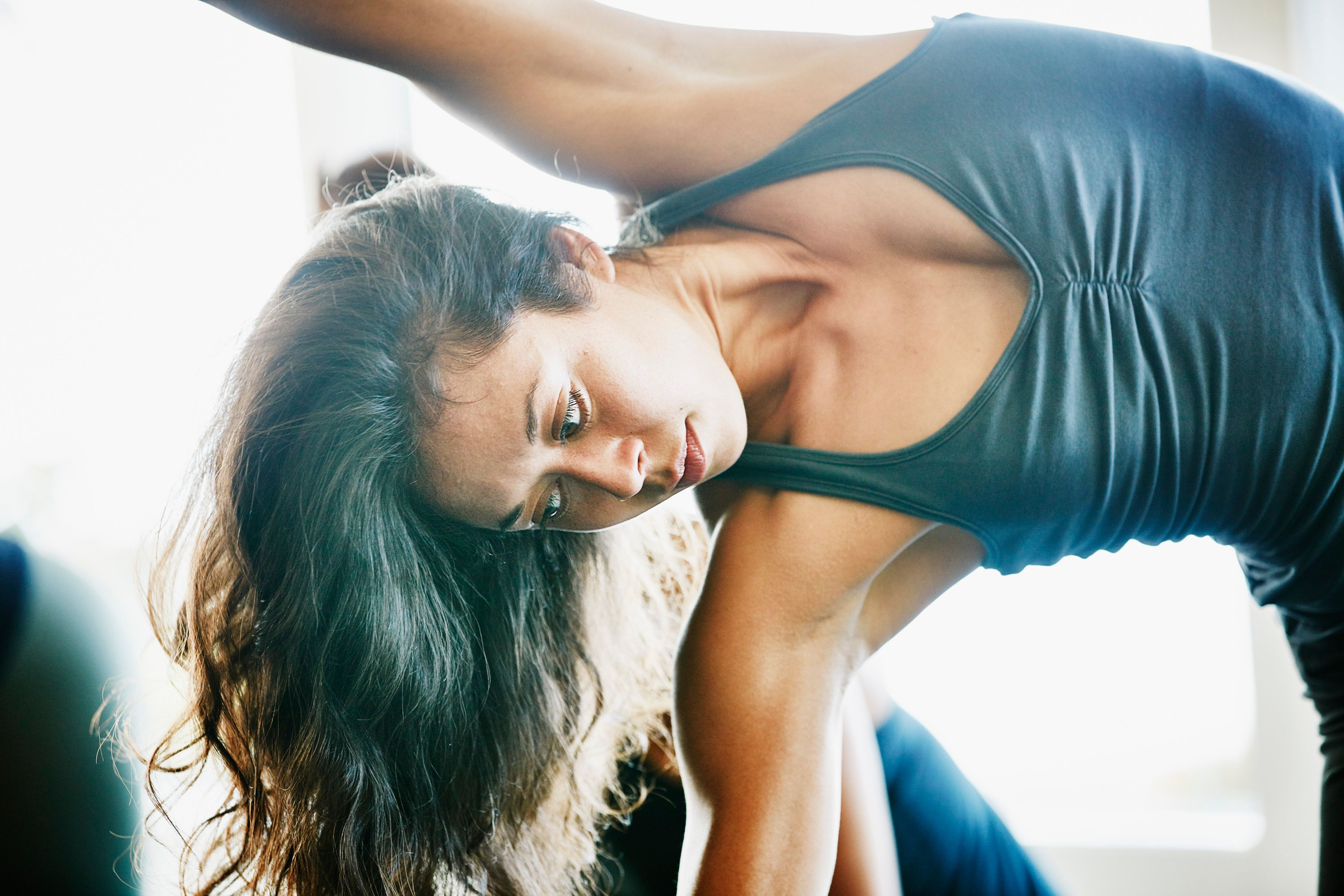 The yoga group also saw bigger reductions in their symptoms of depressionand anxiety than did the brain-training group, in a new small-scale study.