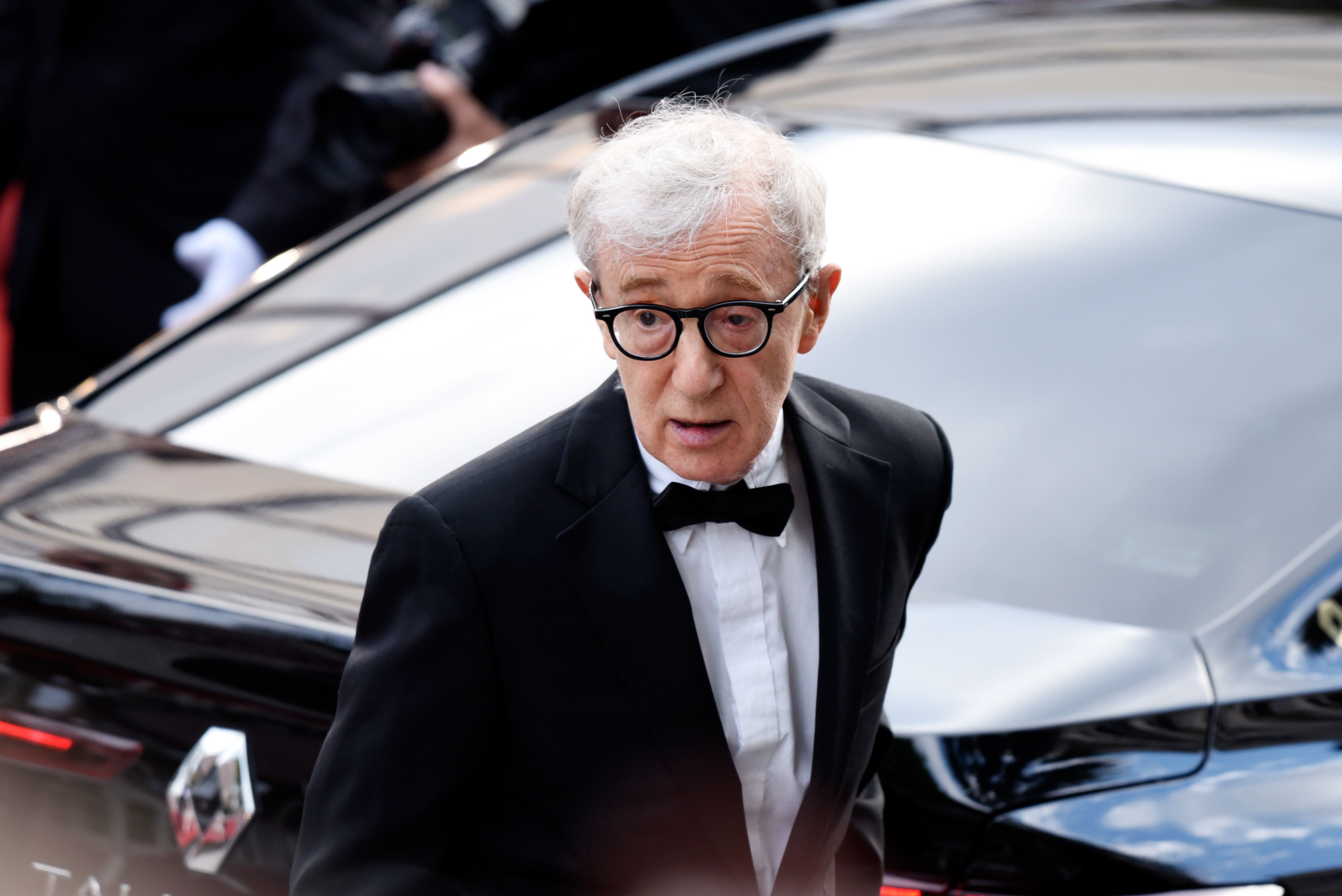 CANNES, FRANCE - MAY 11:  Director Woody Allen attends the 'Cafe Society' premiere and the Opening Night Gala during the 69th annual Cannes Film Festival at the Palais des Festivals on May 11, 2016 in Cannes, France.  (Photo by Clemens Bilan/Getty Images)