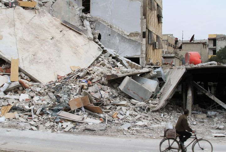 An aid convoy was refused entry into the besieged Syrian town of Daraya. No aid had entered the town in over three years.