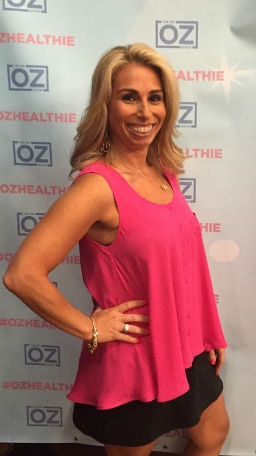 Stacey Chillemi on the Dr. Oz Show for one of his segments