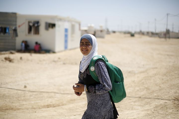 The gaps between school enrollment of girls and boys in the Middle East are among the widest in the world.
