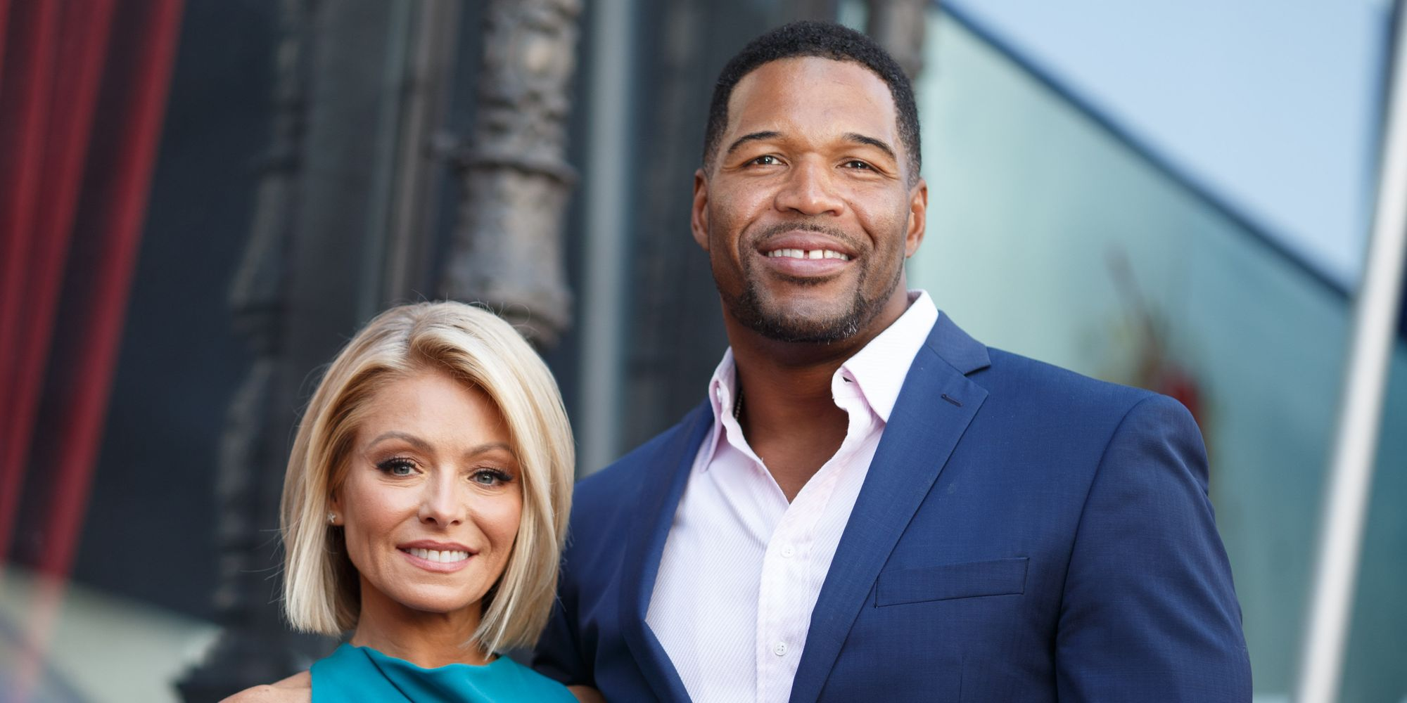 Kelly Ripa Sends Michael Strahan Off With A Bang On His Final 'Live' Episode