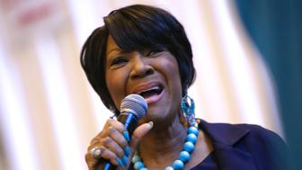 NEW YORK, NY - MAY 10:  Singer Patti LaBelle kicks off the 3rd Annual National Women's Lung Health Week with a performance in Vanderbilt Hall at Grand Central Terminal on May 10, 2016 in New York City.  (Photo by Brent N. Clarke/FilmMagic)