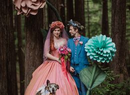 This DIY Woodland Wedding Looks Like Something Out Of A Fairytale