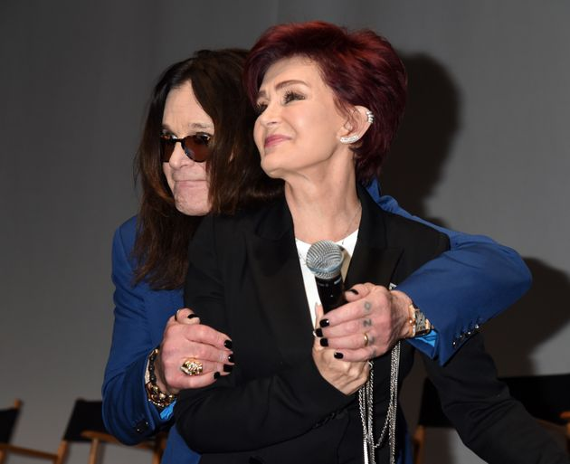 Sharon Osbourne And Ozzy Look Very Cosy At Ozzfest Press Conference