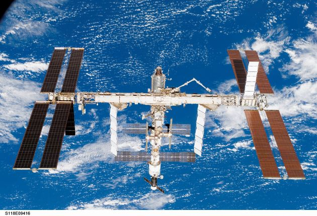 International Space Station Hit By Space Debris Causing Tiny Crack In